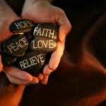 success hope peace faith rocks