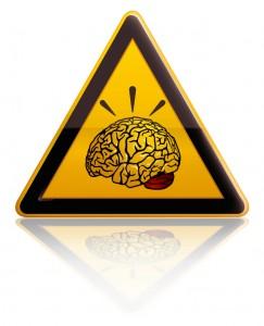 brain yield sign