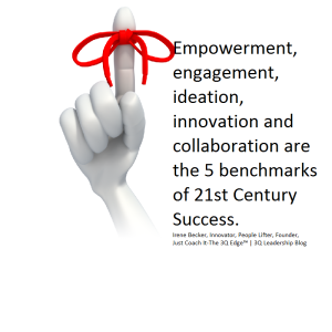 Re-invent, Re-Imagine, Engage and LEAD Forward