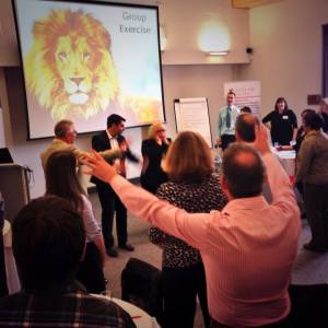 Leadership Delegates Doing Leadership Roar UK Keynote Oct 3 2014