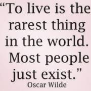 to-live-oscar-wilde